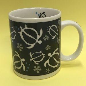 Hawaiian Coffee Mug, Honu, Turtles